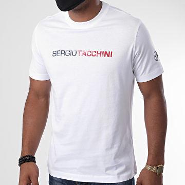 Sergio Tacchini - Tee Shirt Robin Blanc