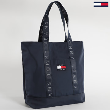 Tommy Jeans - Sac A Main Femme Heritage Tote 8571 Bleu Marine