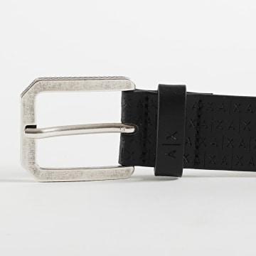 Armani Exchange - Ceinture Tongue Belt 951234-0A805 Noir