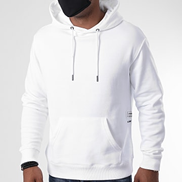 Blend - Sweat Capuche 20710758 Blanc