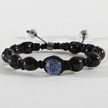California Jewels - Bracelets KDBSB001 Noir Bleu