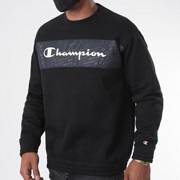 Champion - Sweat Crewneck 214776 Noir
