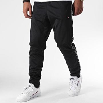Champion - Pantalon Jogging A Bandes 214965 Noir