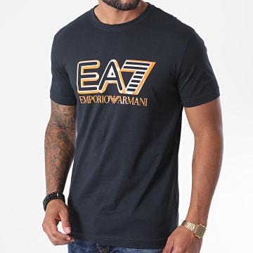 EA7 - Tee Shirt 6HPT16-PJ02Z Bleu Marine