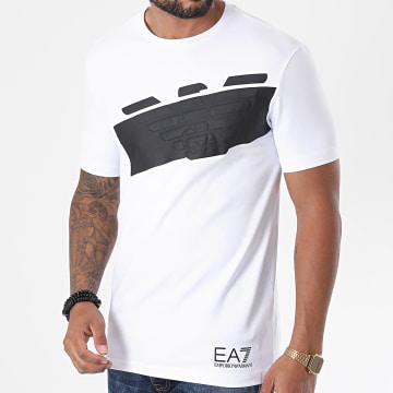 EA7 - Tee Shirt 6HPT31-PJ3NZ Blanc Noir