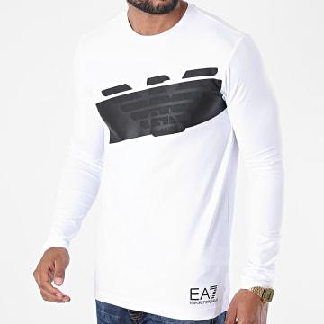 EA7 - Tee Shirt Manches Longues 6HPT32-PJ3NZ Blanc