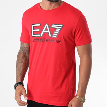 EA7 - Tee Shirt 6HPT81-PJM9Z Rouge