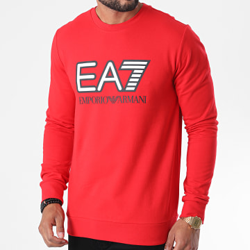 EA7 - Sweat Crewneck 6HPM60-PJ05Z Rouge