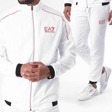 EA7 - Ensemble De Survetement 6HPV03-PNP6Z Blanc
