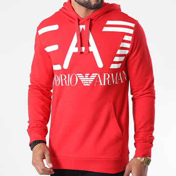 EA7 - Sweat Capuche 6HPM16-PJ05Z Rouge