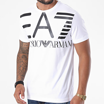 EA7 - Tee Shirt 6HPT06-PJ02Z Blanc
