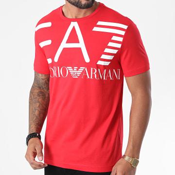 EA7 - Tee Shirt 6HPT06-PJ02Z Rouge