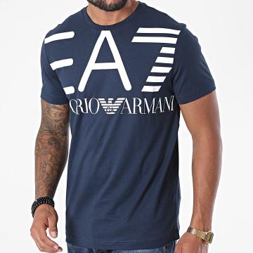 EA7 - Tee Shirt 6HPT06-PJ02Z Bleu Marine