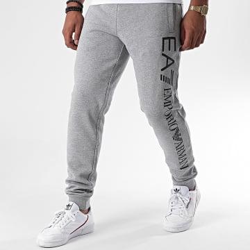 EA7 - Pantalon Jogging 8NPPB5-PJ07Z Gris Chiné