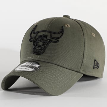 New Era - Casquette 9Forty NBA Essential 12292586 Chicago Bulls Vert Kaki