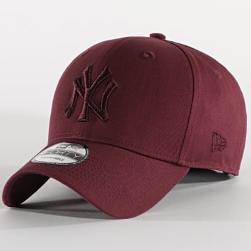 New Era - Casquette 9Forty League Essential 12523888 New York Yankees Bordeaux
