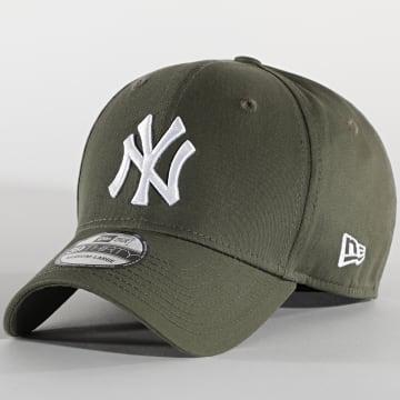 New Era - Casquette Fitted 39Thirty 12523890 New York Yankees Vert Kaki