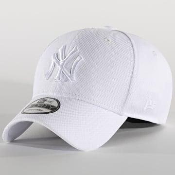 New Era - Casquette 9Forty Diamond Era 12523903 New York Yankees Blanc