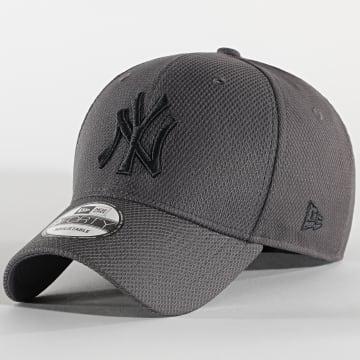 New Era - Casquette 9Forty Diamond Era 12523906 New York Yankees Gris Anthracite