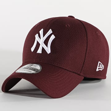 New Era - Casquette Fitted 39Thirty 12523908 New York Yankees Bordeaux