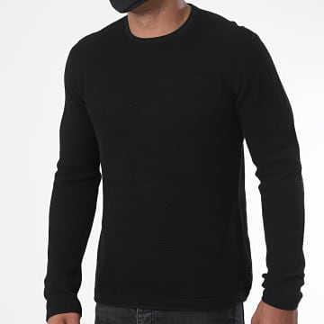 Only And Sons - Sweat Crewneck Panter 12 Noir