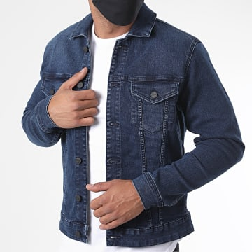 Only And Sons - Veste Jean Come Life Trucker Bleu Brut
