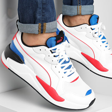 Puma - Baskets X-Ray Game 372849 White Blue Red Black