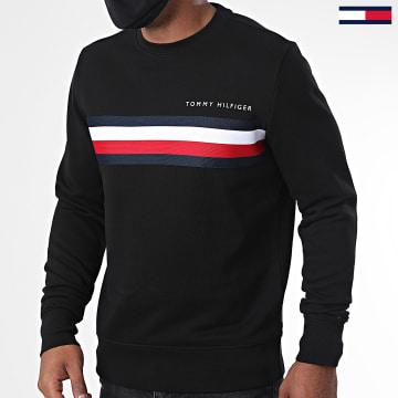 Tommy Hilfiger - Sweat Crewneck Logo 4758 Noir