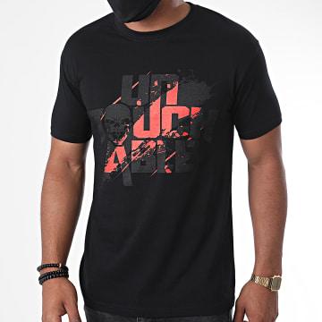 Untouchable - Tee Shirt Untouchable Splatter Noir Rouge