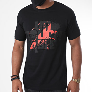 Untouchable - Tee Shirt Splatter Noir Rouge