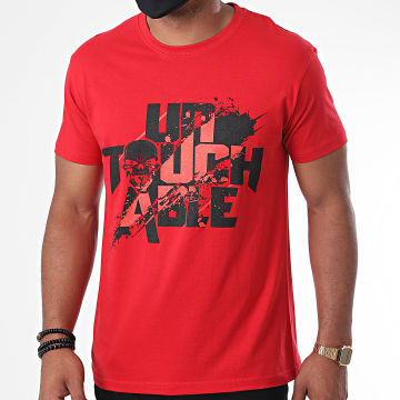Untouchable - Tee Shirt Splatter New Rouge