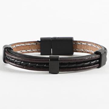 Black Needle - Bracelet BBC-298 Noir Marron