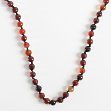 Black Needle - Collier BBC-286 Marron