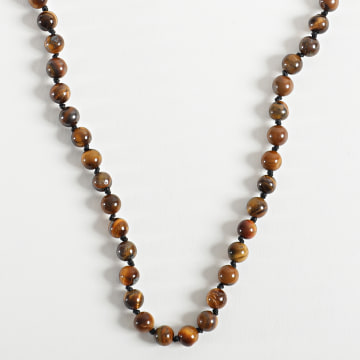 Black Needle - Collier BBC-289 Marron