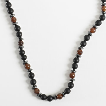 Black Needle - Collier BBC-282 Noir