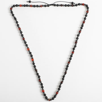 Black Needle - Collier BBC-279 Noir Marron