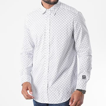 Diesel - Chemise Manches Longues S-Riley A00210-0AAZM Blanc