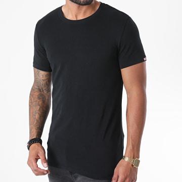 Diesel - Tee Shirt Soft Cotton 00CG24-0LAXP Noir