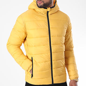 Jack And Jones - Doudoune Capuche Magic Jaune
