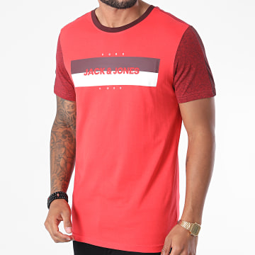 Jack And Jones - Tee Shirt A Bandes Diego Rouge
