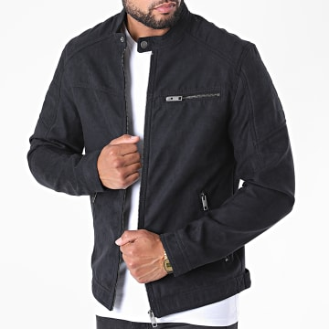 Jack And Jones - Veste Biker Rocky Noir