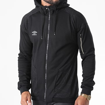 Umbro - Sweat Zippé Capuche Performance 806520-60 Noir
