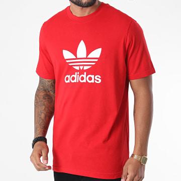 Adidas Originals - Tee Shirt Trefoil GD9912 Rouge