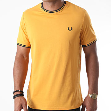 Fred Perry - Tee Shirt Twin Tipped M1588 Moutarde