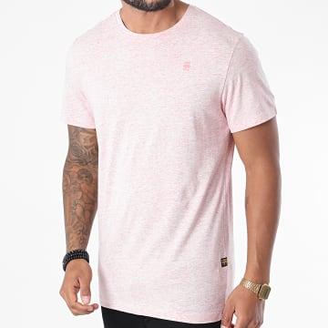 G-Star - Tee Shirt Base-S D16411-336 Rose Chiné