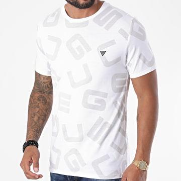 Guess - Tee Shirt M0YI84-I3Z00 Blanc Beige