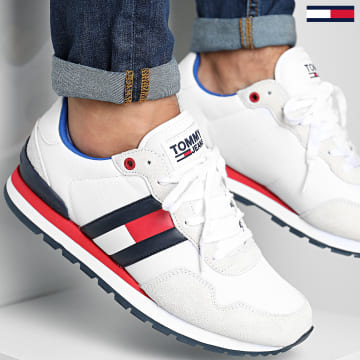Tommy Jeans - Baskets Lifestyle 0492 RWB