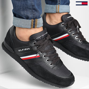 Tommy Hilfiger - Baskets Iconic Material Mix 2847 Black