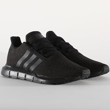 Adidas Originals - Baskets Femme Swift Run F34314 Core Black