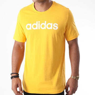 adidas - Tee Shirt Essential Linear GD5396 Jaune
